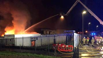 former st mary's youth club in derry badly damaged in fire