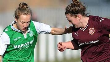 swpl: hibernian thump rangers to stay top