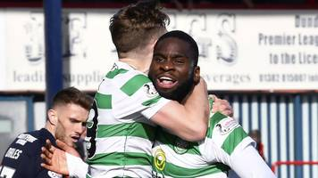 dundee 0-1 celtic: odsonne edouard goal moves leaders 10 points clear