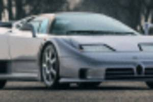 final bugatti eb110 ss ever built surfaces for sale