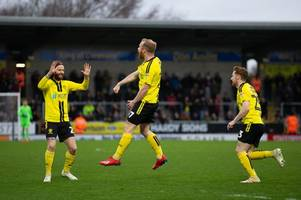 burton albion changing room 'buzzing' as liam boyce gets back on the scoresheet in blackpool win