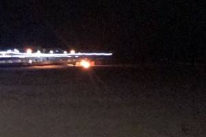 emergency services called after beach fire with '12ft flames' gets out of control
