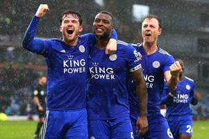 what the match of the day pundits made of leicester city's dramatic burnley win