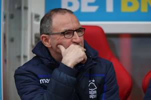 martin o'neill praying that nottingham forest's bad luck balances itself out before the end of the season