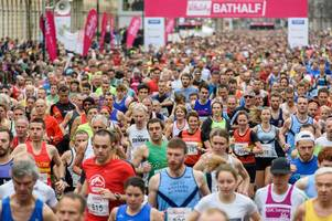 bath half marathon 2019: latest met office forecast as runners prepare for the big day