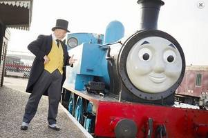 you can meet a real-life thomas the tank engine an hour from cambridge