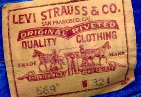 levi's ride 1980s denim trend back to stock market relisting