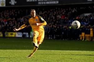 'class act' - these fans all noticed what brighton striker glenn murray did against millwall