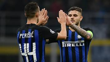 man utd & arsenal alerted to potential availability of star inter duo mauro icardi & ivan perisic