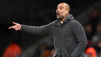 pep guardiola apologises to swansea for offside goal & admits worry over latest pitch invasion