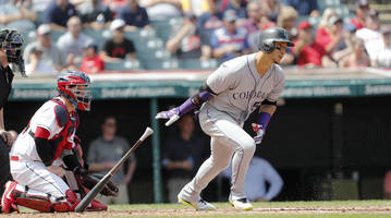 report: outfielder carlos gonzalez to sign minor league deal with indians