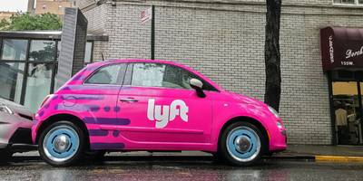 lyft is seeking a valuation of up to $23 billion as it embarks on its ipo road show (lyft)