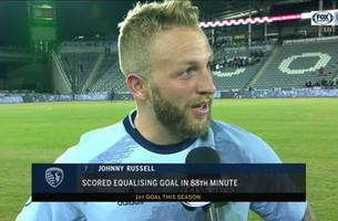 russell credits sporting kc's road fans after big goal: 'they've been brilliant for us'