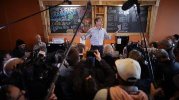 beto o'rourke raised over $6m in first day of presidential campaign