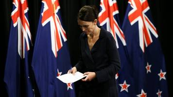 new zealand cabinet agrees 'in principle' to tighten gun laws