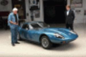 a rare 1971 marcos gt visits jay leno's garage