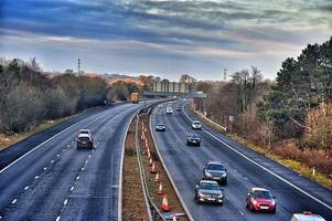 m40 shut due to serious collision near high wycombe