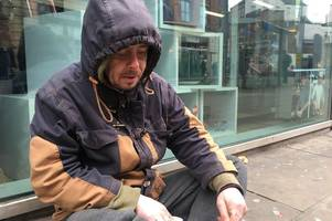 Homeless man in Nottingham who was attacked in his sleeping bag, says he can't trust anyone on the streets