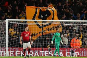 'i don't understand' this wolves vs manchester united incident has been slammed by referee