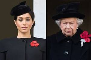 The Queen BLOCKS Meghan Markle and Prince Harry's independence bid