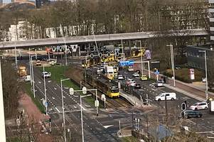 utrecht tram shooting leaves multiple people injured as gunman 'escapes' - updates