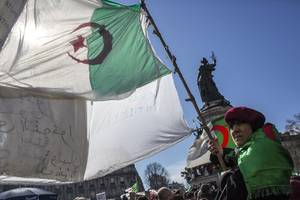 doctors call for mass protests on algeria's independence day against bouteflika