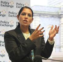 priti patel joins calls for radical shake-up of aid budget rules