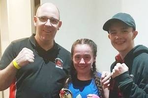 hat-trick of boxing titles for hamilton teenager chloe bodwick