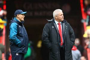 joe schmidt blames ireland's defeat to wales on warren gatland finding out his team early