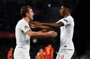 Marcus Rashford outlines the two qualities of Harry Kane's game that he really admires