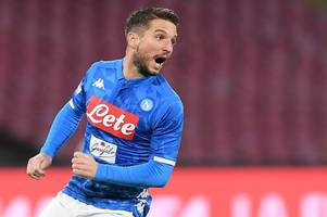 napoli star dries mertens reveals why arsenal are a stronger opponent under unai emery