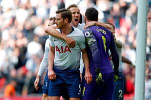 where tottenham can win or lose the top-four battle against arsenal, man united and chelsea