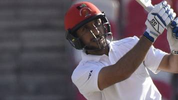 afghanistan win first cricket test