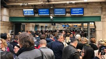 eurostar industrial action continues to hit services from paris