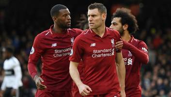 james milner takes blame off virgil van dijk for goal liverpool conceded against fulham