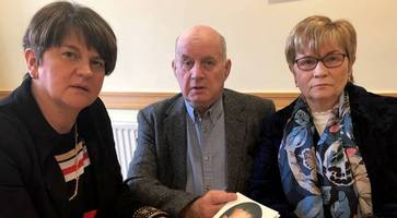 parents of ira victim appeal for leading us politician to aid justice crusade