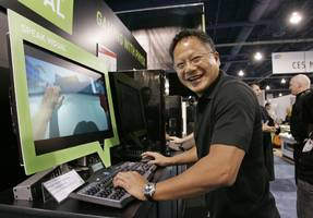 nvidia is gaining ground ahead of its investor day (nvda)
