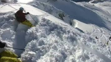 skiers caught by surprise in off-piste austria avalanche