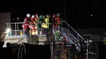 llanelli site rescue after worker is trapped