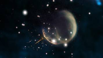 Astronomers Spot 'Cannonball Pulsar' Hurtling Through Space