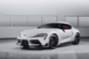 pick a color, any color: 2020 toyota supra color configurator goes live