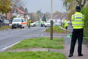 horrified officer watched as man was 'catapulted 20ft into the air' by hit-and-run bmw