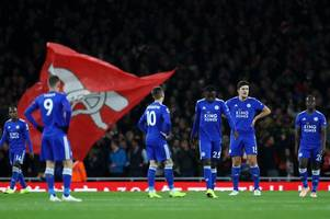how leicester city v arsenal could be moved due to the europa league