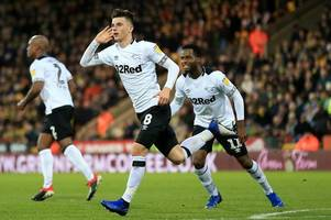 championship transfer rumours: leeds united striker talks future and derby county to lose star