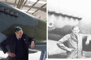 son plans spitfire fly-past in tribute to raf engineer richard graham