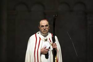 Cardinal Barbarin says Pope has refused his offer to resign