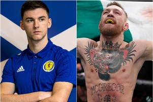 Kieran Tierney thanks Conor McGregor as Celtic star pays tribute to UFC great