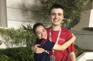scottish tennis teen defies disability to pick up medal at special olympics