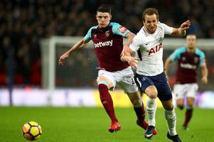 england captain harry kane reveals the one attribute he really likes about declan rice's game