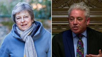brexit: theresa may to discuss next steps after bercow ruling